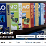 CITY-MEMO ist seit heute auch auf Facebook zu finden!